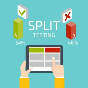 getresponse email marketing for your in home business ideas with split testing demonstration picture