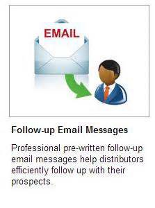 getresponse email marketing for your in home business ideas with follow up email picture
